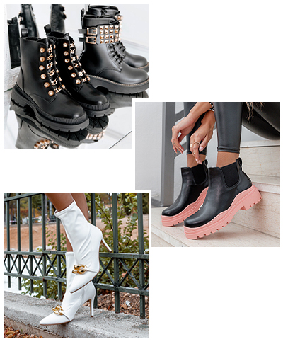 BOOTIES WITH A TWIST